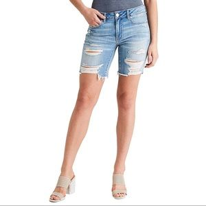 AMERICAN EAGLE | Tom-girl Denim Bermuda Shorts